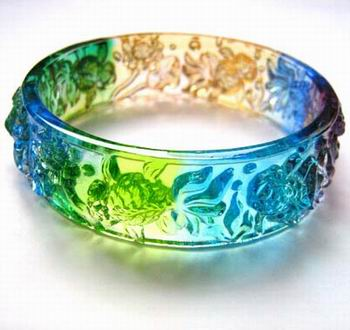 Coloured Glaze Bangle